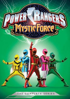 Power Rangers Mystic Force. The complete series cover image