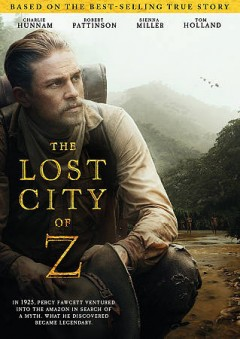 The lost city of Z cover image