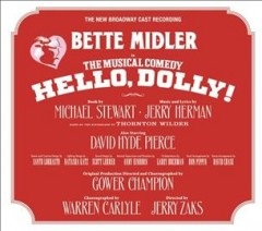 Hello, Dolly! new Broadway cast recording cover image