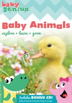 Baby genius. Baby animals cover image