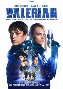 Valerian and the city of a thousand planets cover image