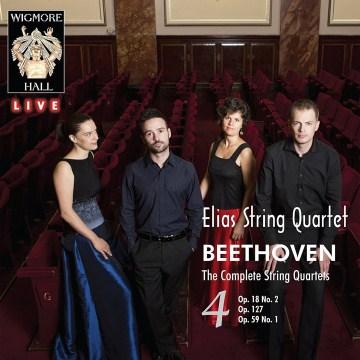 The complete string quartets. 4, Op. 18 no. 2, Op. 127, Op. 59 no. 1 cover image