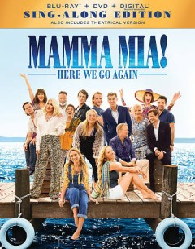 Mamma mia!. Here we go again [Blu-ray + DVD combo] cover image