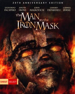 The man in the iron mask cover image