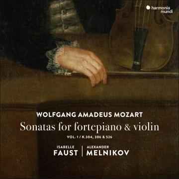 Sonatas for fortepiano and violin. Vol. 1, K. 304, 306 & 526 cover image
