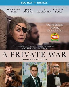 A private war [Blu-ray + DVD combo] cover image