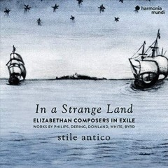 In a strange land Elizabethan composers in exile cover image