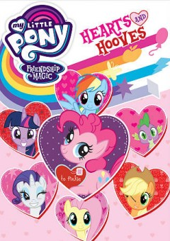 My little pony, friendship is magic hearts and hooves cover image