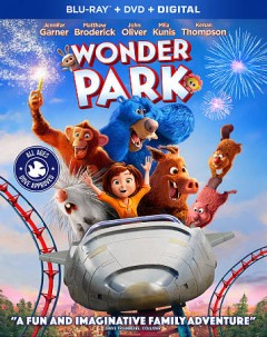 Wonder park [Blu-ray + DVD combo] cover image