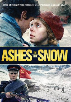 Ashes in the snow cover image