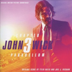 John Wick. Chapter 3, Parabellum, original motion picture soundtrack cover image