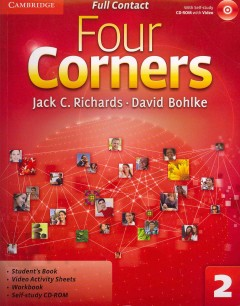 Four corners. 2, Student's book cover image