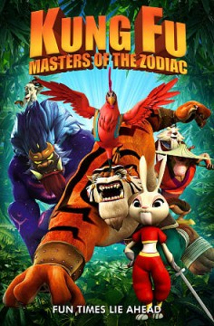 Kung fu masters : the movie cover image