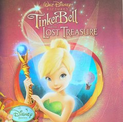 Tinker Bell and the lost treasure songs from and inspired by Disney fairies cover image