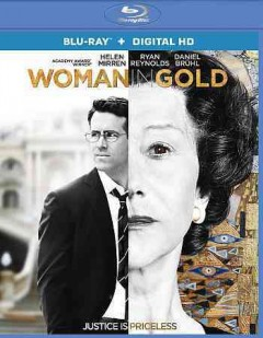 Woman in gold cover image