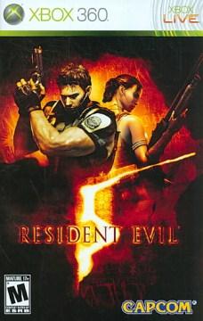 Resident evil 5 [XBOX 360] cover image