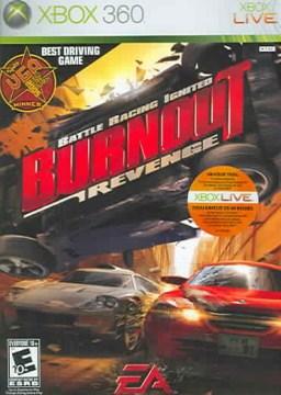 Burnout revenge [XBOX 360] battle racing ignited cover image