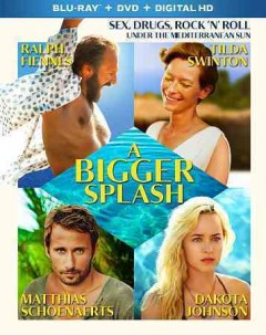 A bigger splash [Blu-ray + DVD combo] cover image