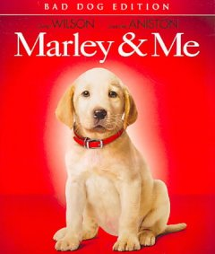 Marley & me [Blu-ray + DVD combo] cover image