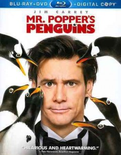 Mr. Popper's penguins [Blu-ray + DVD combo] cover image