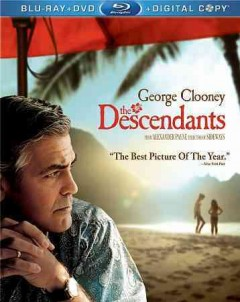 The descendants [Blu-ray + DVD combo] cover image
