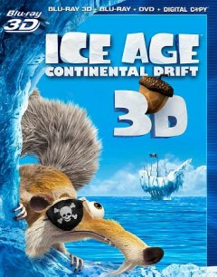 Ice age. Continental drift [3D Blu-ray + Blu-ray + DVD combo] cover image