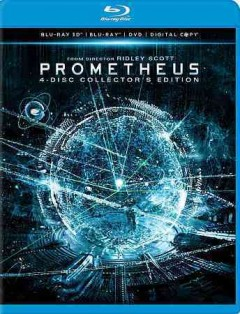 Prometheus [3D Blu-ray + Blu-ray + DVD combo] cover image