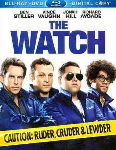 The watch [Blu-ray + DVD combo] cover image