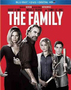 The family [Blu-ray + DVD combo] cover image