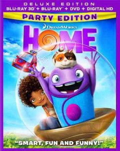 Home [3D Blu-ray + Blu-ray + DVD combo] cover image