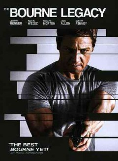 The Bourne legacy cover image