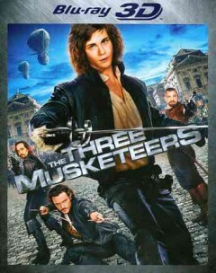 The three musketeers [3D Blu-ray + Blu-ray combo] cover image