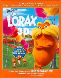 The Lorax [3D Blu-ray + Blu-ray + DVD combo] cover image