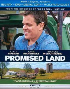 Promised land [Blu-ray + DVD combo] cover image
