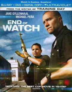End of watch [Blu-ray + DVD combo] cover image