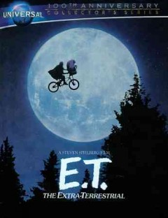 E.T. [Blu-ray + DVD combo] the extra-terrestrial cover image