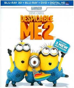 Despicable me 2 [3D Blu-ray + Blu-ray + DVD combo] cover image