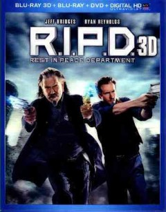 R.I.P.D. [3D Blu-ray + Blu-ray + DVD combo] cover image