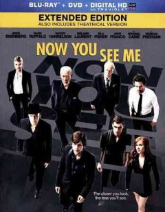 Now you see me [Blu-ray + DVD combo] cover image