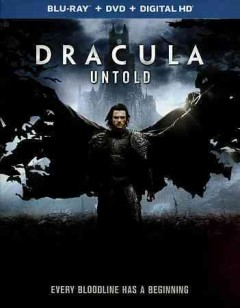 Dracula untold [Blu-ray + DVD combo] cover image
