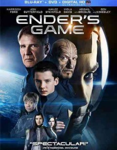 Ender's game [Blu-ray + DVD combo] cover image