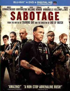 Sabotage [Blu-ray + DVD combo] cover image