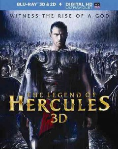 The legend of Hercules [3D Blu-ray] cover image