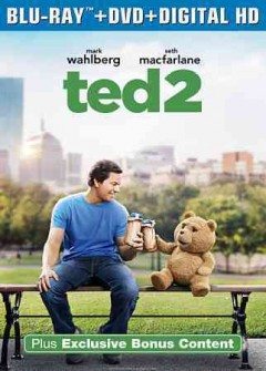 Ted 2 [Blu-ray + DVD combo] cover image