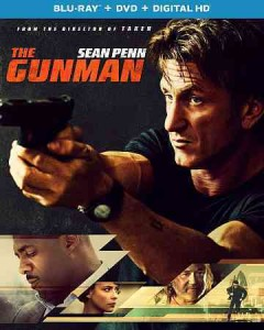 The gunman [Blu-ray + DVD combo] cover image