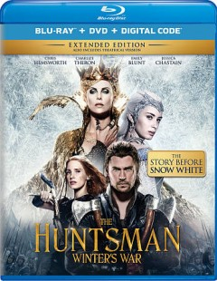 The huntsman [Blu-ray + DVD combo] winter's war cover image
