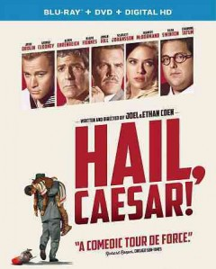 Hail, Caesar! [Blu-ray + DVD combo] cover image