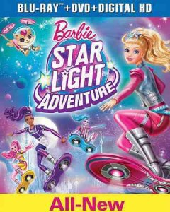Barbie, star light adventure [Blu-ray + DVD combo] cover image