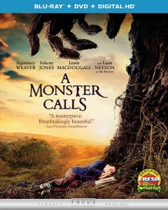 A monster calls [Blu-ray + DVD combo] cover image