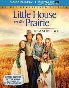 Little house on the prairie. Season 2 cover image